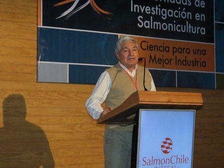 Presidente de SalmonChile, Arturo Clément. Foto: Archivo Salmonexpert.