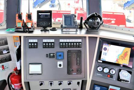 Instrumentene ombord. Foto: Moen Marin.