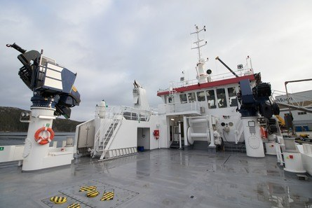 Båten har lastekapasitet på 150 tonn. Foto: Fo2rger