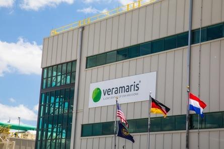 The exterior of the $200m Veramaris algal oil facility in Blair, Nebraska. Photo: Veramaris.