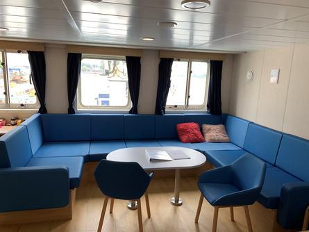 Slik ser båten ut innvendig. Foto: Amar Shipping.