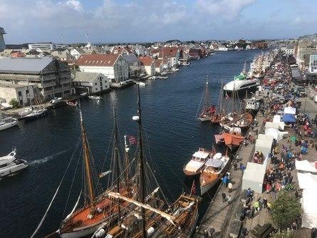 Haugesund viste seg fra sin beste side under Havnedagene.
