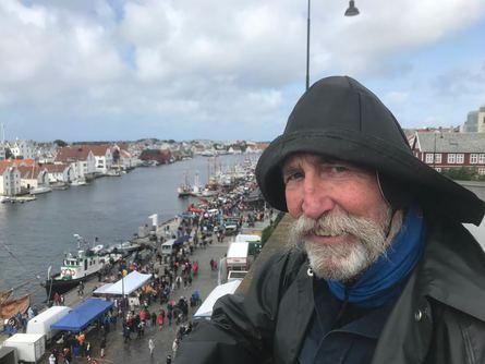 Terje Vigen hadde også tatt turen til byen.