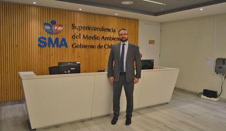 Cristóbal de la Maza, superintendente del Medio Ambiente. Foto: SMA.