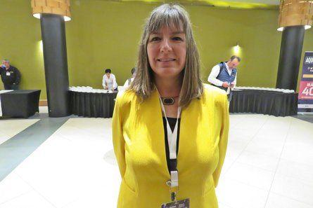 Alicia Gallardo, directora nacional de Sernapesca. Foto: Salmonexpert.