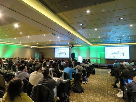 Al Workshop asistieron alrededor de 130 personas. Foto: Salmonexpert.