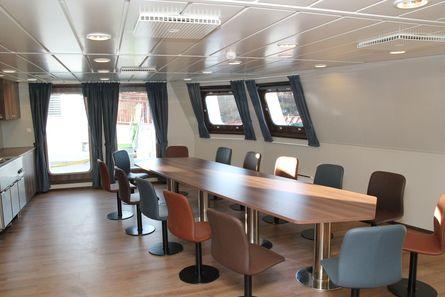 Møbler er levert av Maritime Montering. Foto: Havyard