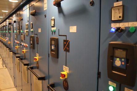 Norwegian Electric Systems har levert tavlene om bord. Foto: Havyard