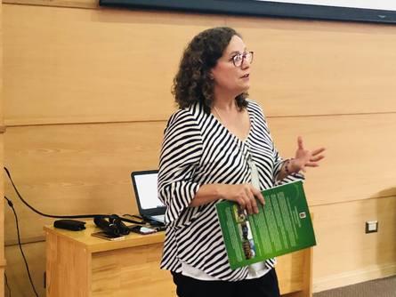 La Dra. Marcela Astorga dirige el Doctorado en Ciencias de la Acuicultura de la Uach.