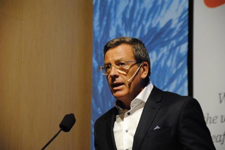 Ricardo García, vicepresidente de Salmones Camanchaca. Foto: Salmones Camanchaca.