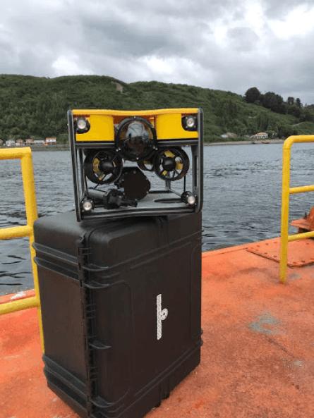 Lokøy sier at de har flere ulike ROV typer, der noen er lettere utstyrt mens andre har mer teknisk utstyr.Foto: Nido Robotics.