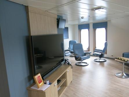 Interiøret er levert av Norwegian Marine Interior. Foto: Håvard Røsvik/Vaagland Båtbyggeri
