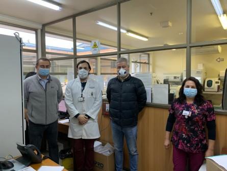 El termocilador permanecerá después de la crisis sanitaria en el laboratorio. Imagen: Skretting.