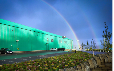 The other side of the hatchery, near Oban. Photo: SSF.