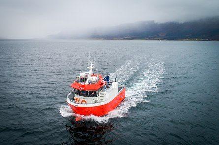 El-båten har en batteripakke på 330 kwh, som gir både lang rekkevidde og lang levetid. Med el-framdrift og elektriske thrustere, blir det en stille og lett manøvrerbar båt. Foto: Nova Sea.