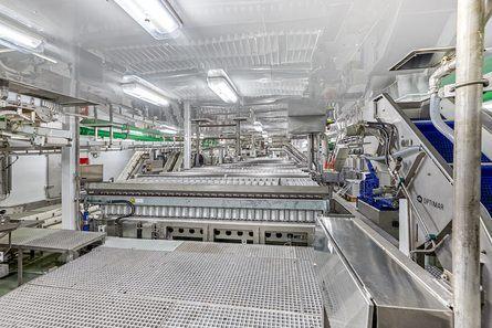 Fabrikken om bord er levert av Optimar. Foto: Cemre Shipyard