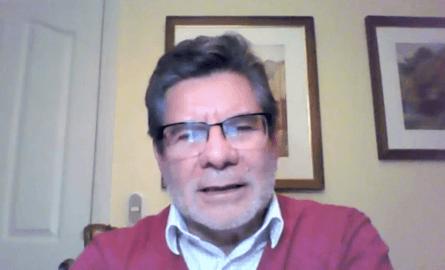 Aldolfo Alvial, Director ejecutivo del Club Innovación Acuícola y de ORBE XXI.