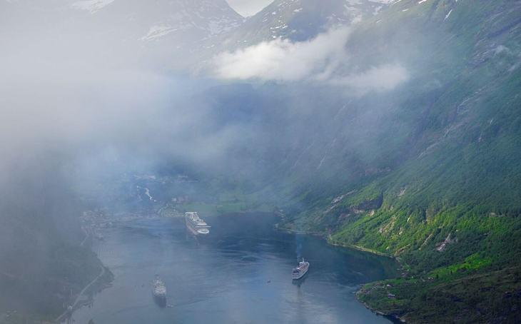 Kan ha løsningen på forurensningsproblemene i Geirangerfjorden
