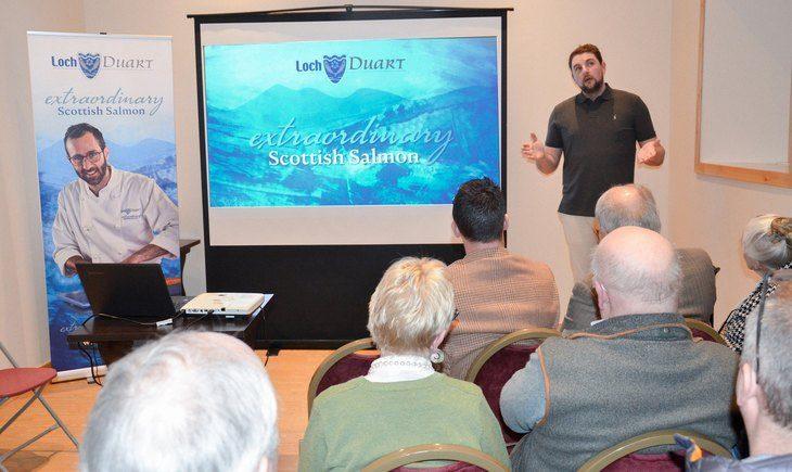 A welcome site: Loch Duart plans open days