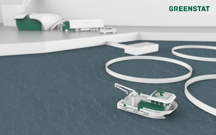 Utviklet første hydrogenbåt for havbruksnæringen