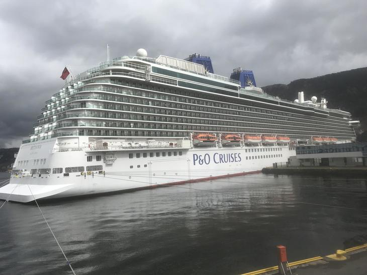 Rekordstor kontrahering av cruiseskip