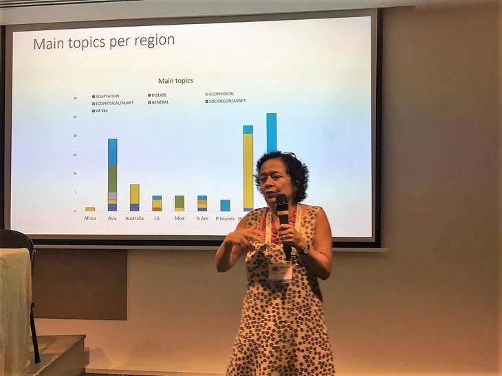 Investigación INCAR por Vulnerabilidad al Cambio Climático destaca en WAS 2018
