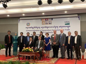 USA funds freshwater aquaculture project in Cambodia