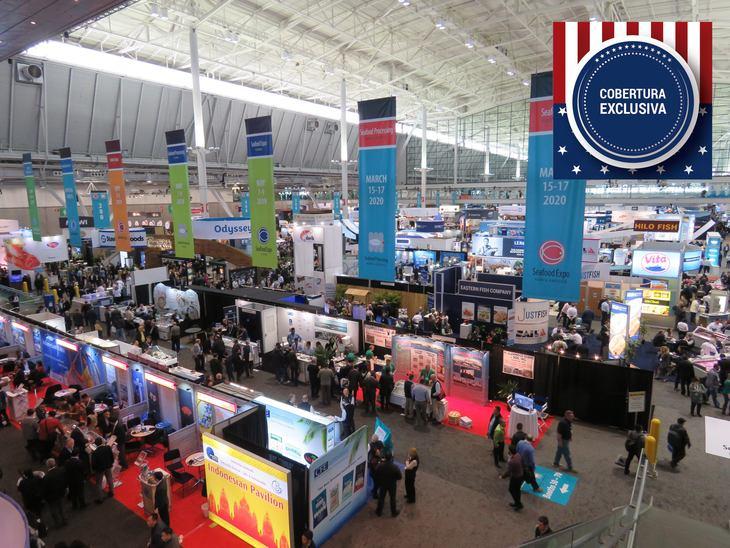 Comienza la Seafood Expo North America 2019