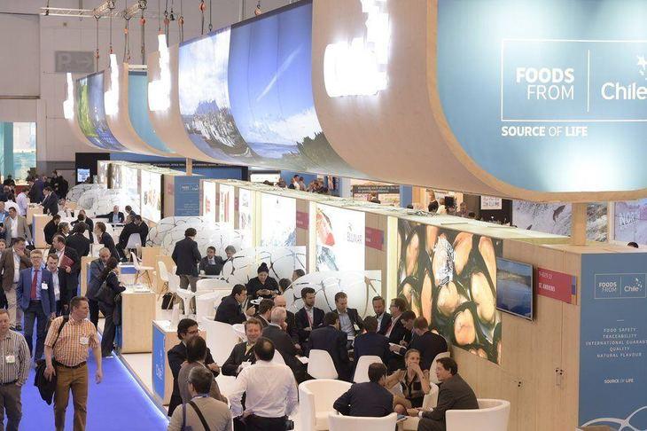 Chilenos participan de nueva versión de Seafood Expo Global