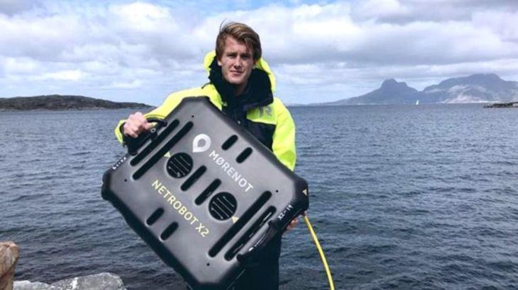 Presentan robot submarino que evita incrustaciones en redes acuícolas
