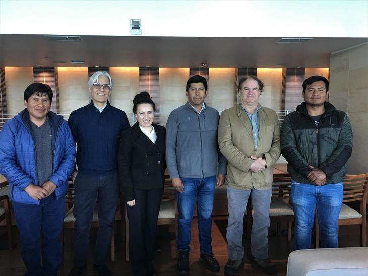 Truchicultores peruanos se interiorizan en funcionamiento de industria chilena