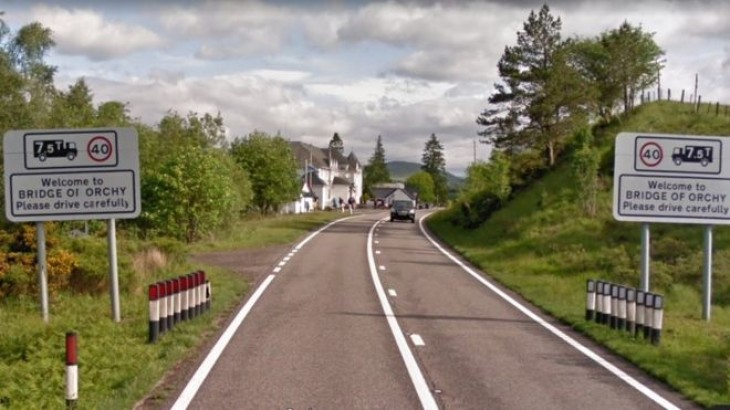 Safety alert as salmon goes missing after lorry crash