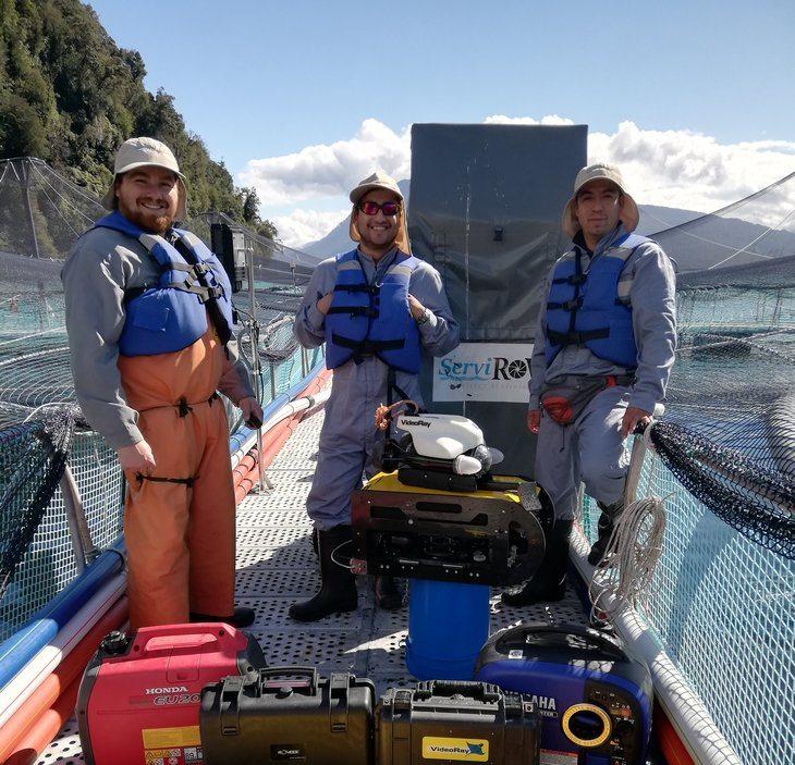 Boom de los ROVs acuícolas incentiva el emprendimiento regional