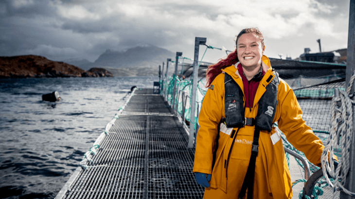Lanzan programa de mentoría para mujeres en la acuicultura