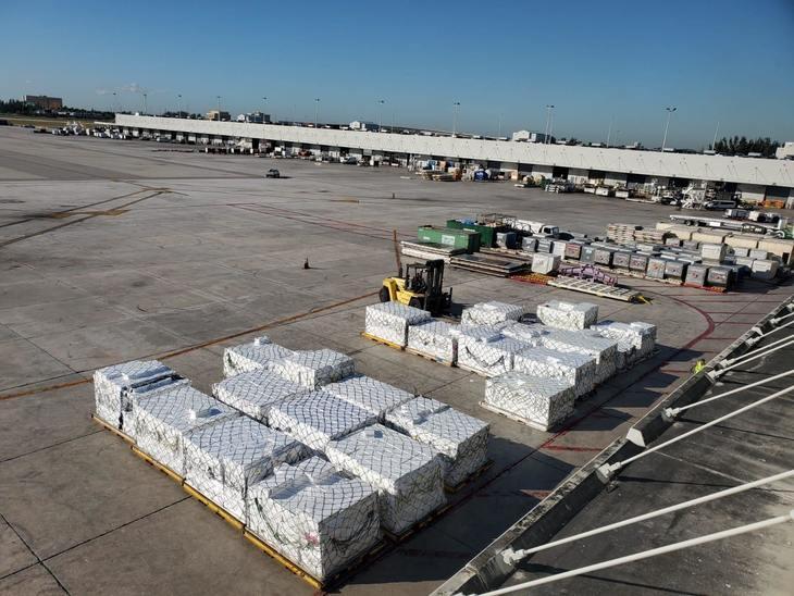 AquaChile envía carga exclusiva de salmones a Miami