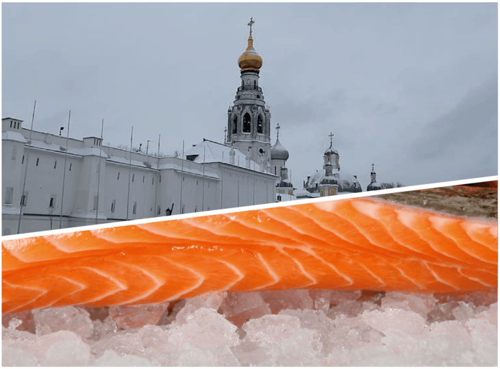 """Autoridad analiza """"caso a caso"""" restricciones a salmón chileno en Rusia"""