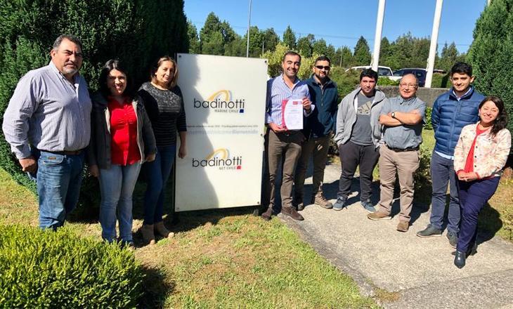 Badinotti Marine logra certificación en norma de calidad ISO-9001