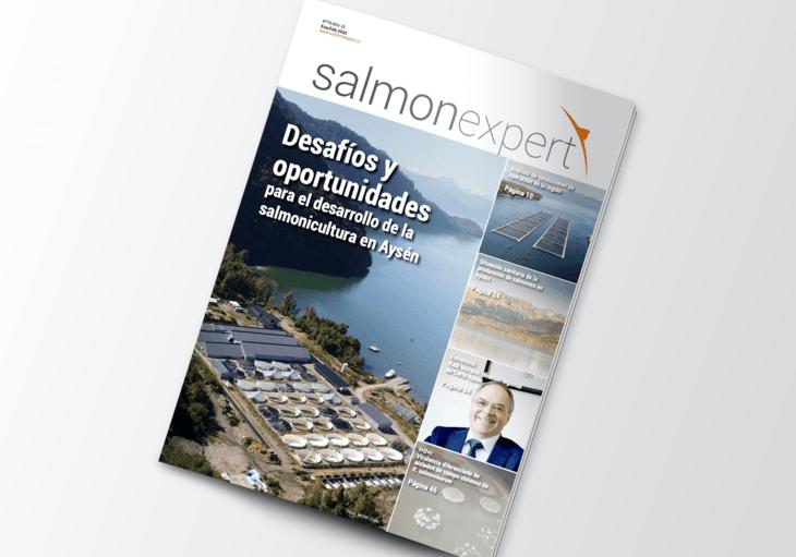 Nueva edición de revista Salmonexpert: Especial salmonicultura en Aysén