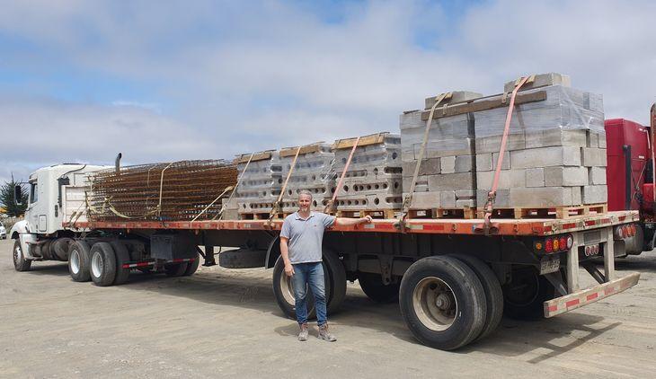Reutilizan plumavit de la acuicultura para construcción de hormigón sustentable