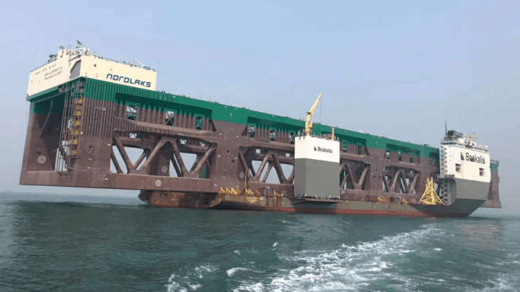 Havfarm is readied for long journey to Norway