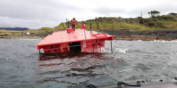 Autoridad Marítima destaca rol de trabajadores salmonicultores en salvamento