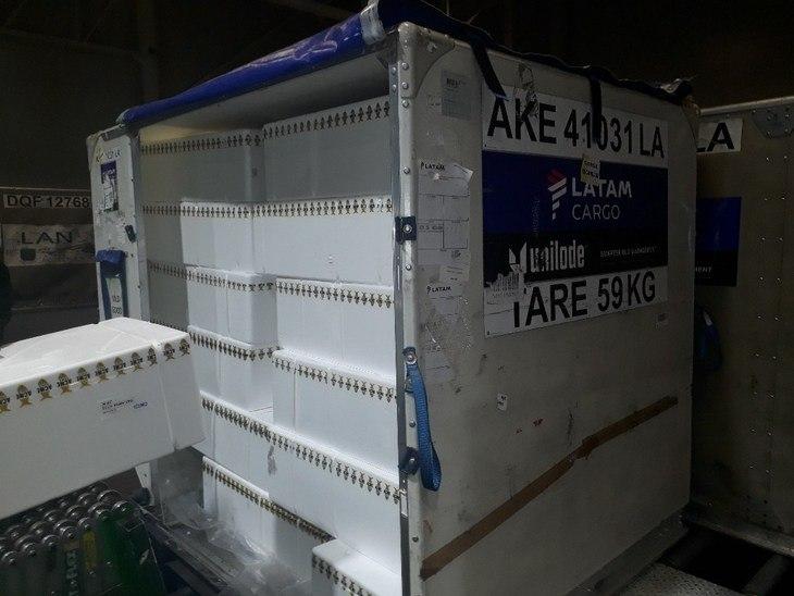 ¿Afectará la cuarentena total en el Gran Santiago los envíos de salmón?