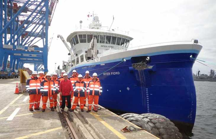 Wellboat de Intership arriba a Chile y aprueba todas las exigencias para operar