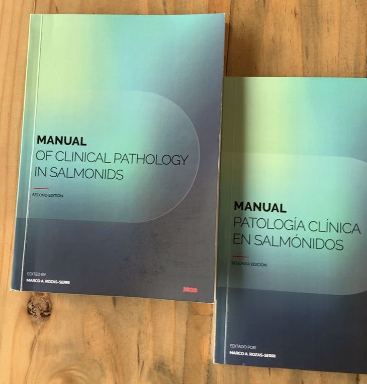 Lanzan segunda versión del Manual de Patología Clínica de Salmónidos