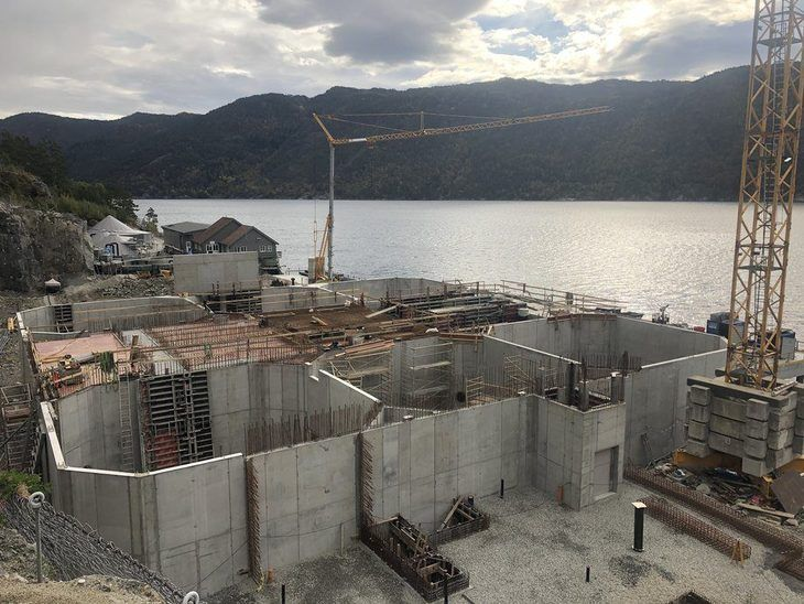 Mowi está construyendo un nuevo centro RAS a gran escala