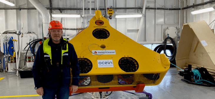 Nuevo proveedor ROV para la salmonicultura crece en Chile contratando gerente