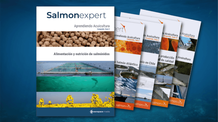 Salmonexpert lanza nuevo compendio sobre alimentación y nutrición de salmónidos