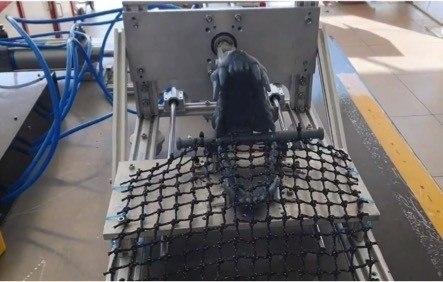 Garware crea robot que prueba resistencia de las redes contra ataque de depredadores