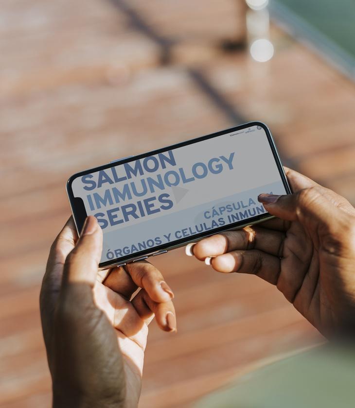Salmonexpert lanza cápsulas de video educativas sobre inmunología en salmónidos