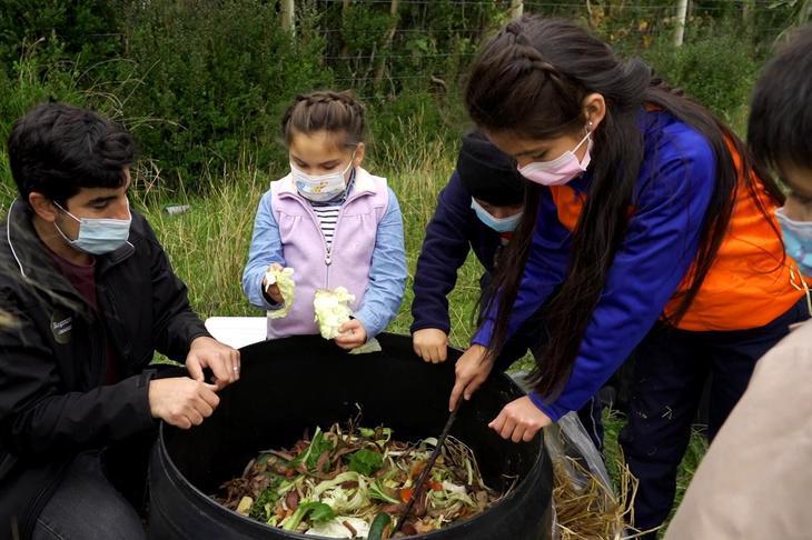 El desafío del trabajo comunitario en pandemia de Blumar